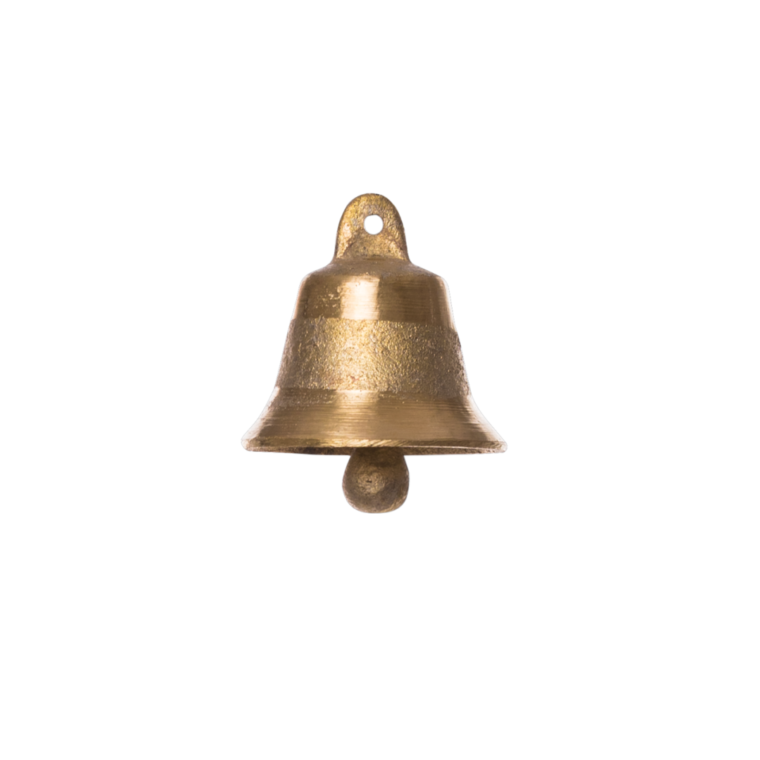 Oval shaped Small Brass Bell 60gr