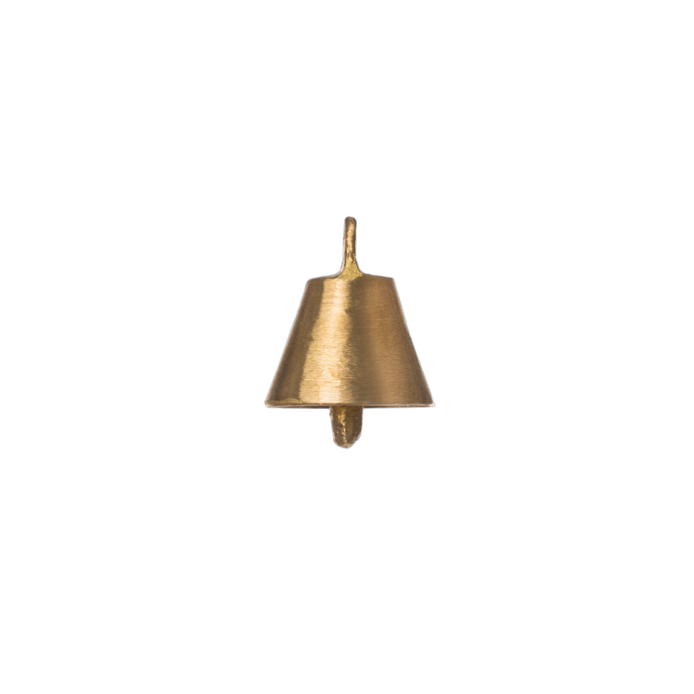 Oval shaped Small Brass Bell 100gr