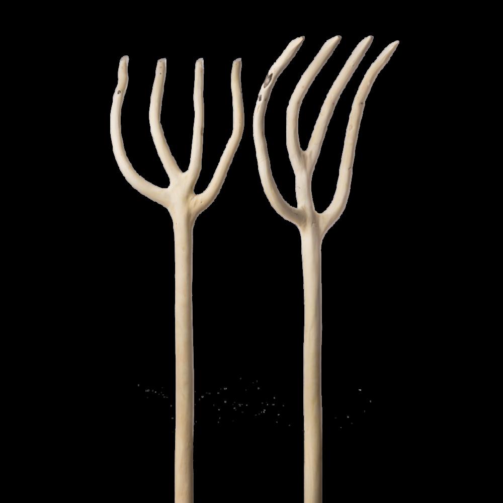 Τετρακράνι από Ξύλο Φλαμουριάς