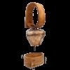 Περιλαίμιο κουδουνιού από ξύλο καστανιάς