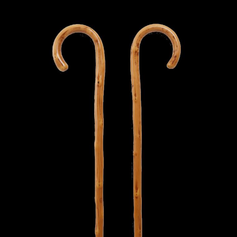 Μπαστούνι από ξύλο καστανιάς με μεταλλικό καρφί