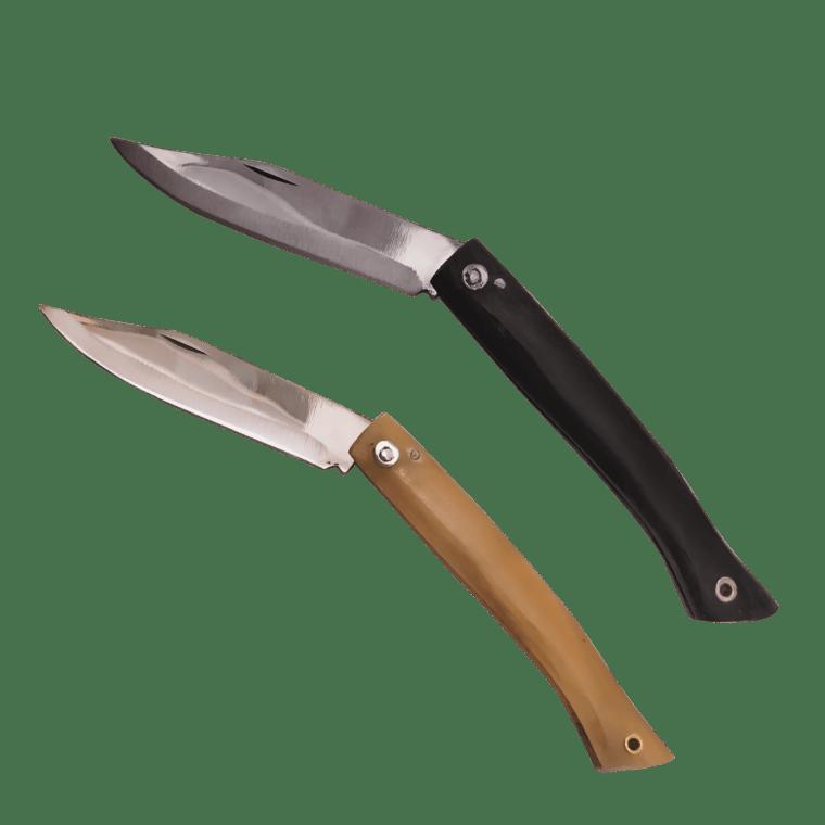 Knife made of natural horn 10 cm