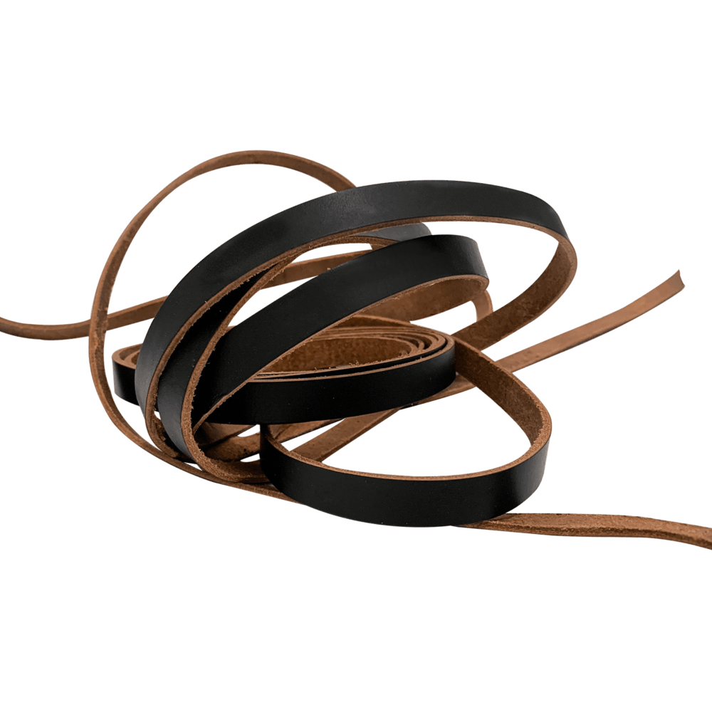 Leather strips 1,5cm